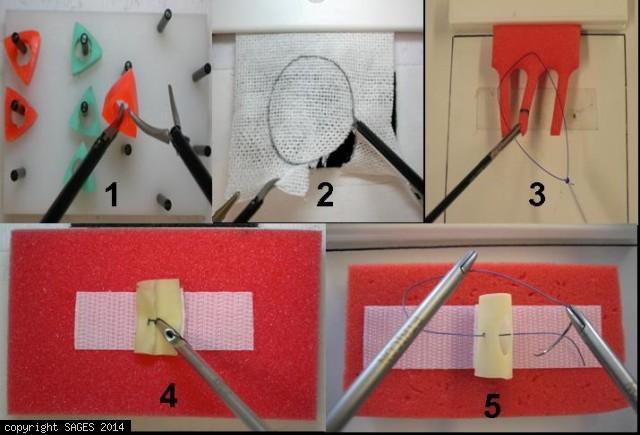 Fundamentals of Laparoscopic Surgery Tasks