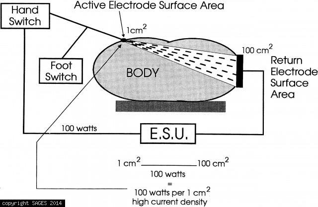 Active Electrode Surface Area