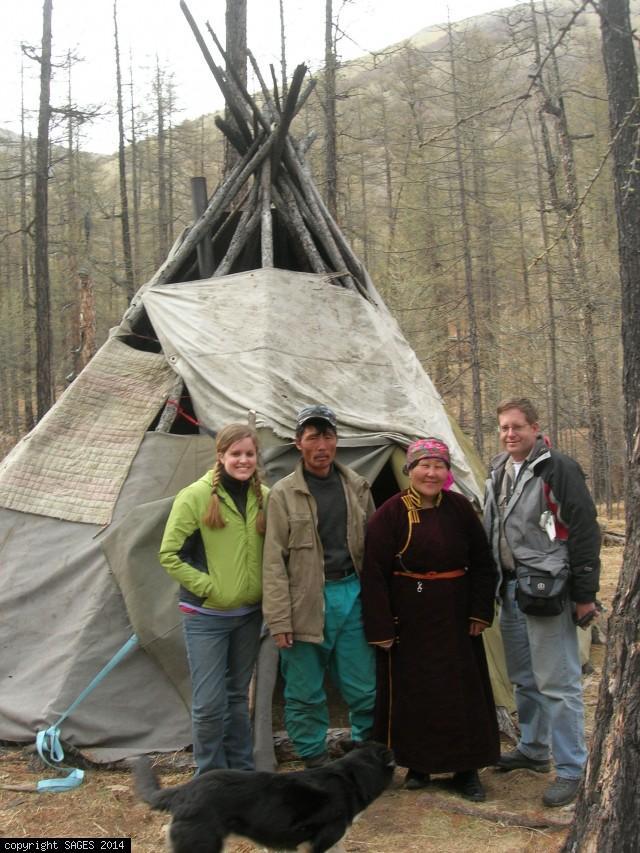 Tsaan Woman of Northern Mongolia house call