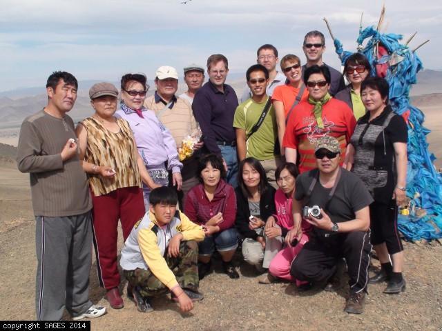 Laparoscopic training Khovd Mongolia countryside
