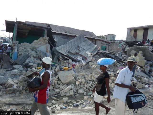 Destruction Port-au-Prince