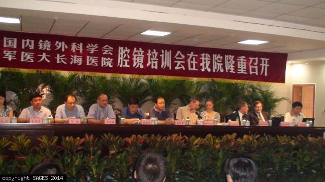 Opening ceremony GoGlobal China 2009