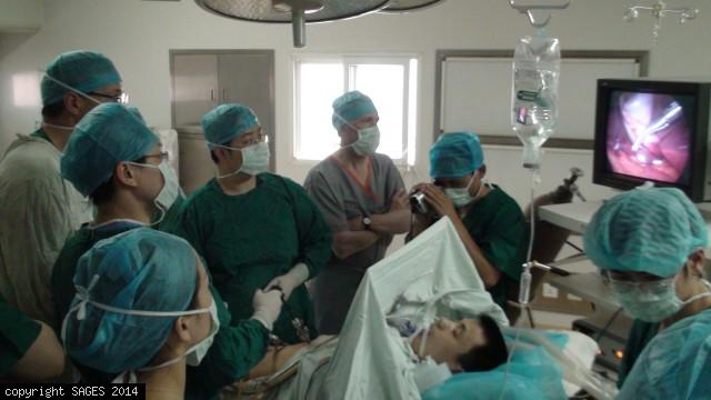 Laparoscopic Cholecytectomy PingChang China