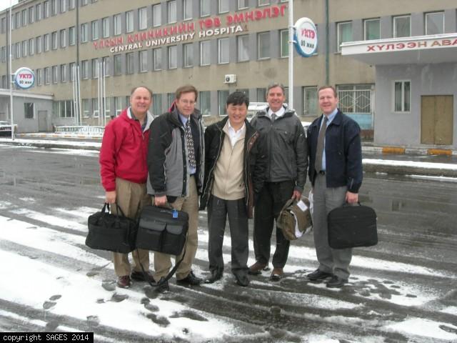 Education team Hospital 1 Ulaanbataar Mongolia