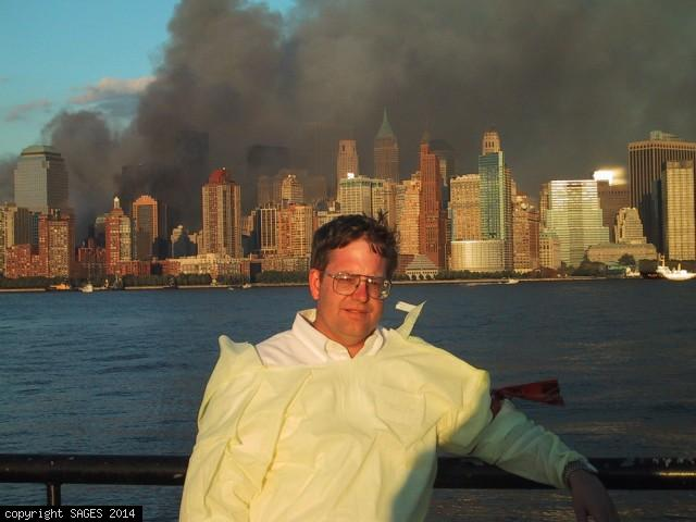 9/11/01 Triage center LIberty State Park