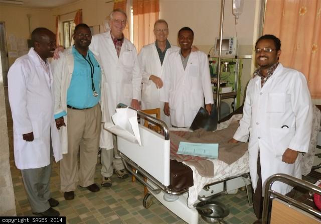 Surgical mission Ethiopia