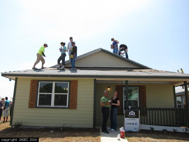 SAGES Builds a House – 1